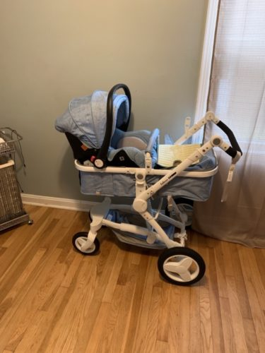 Luxury Baby Stroller 3 In 1 Travel System With Infant Car