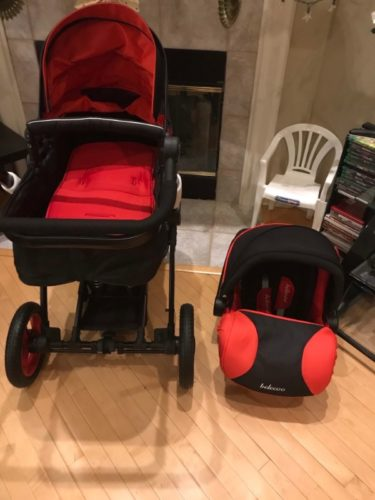 Belecoo Luxury Baby Stroller 3 in 1 Travel System with Infant Car Seat photo review